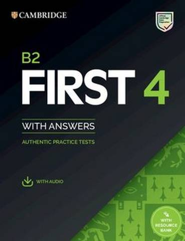Cambridge B2 First (FCE) 4 Student's Book with Answers & Audio Download -  - 9781108780148