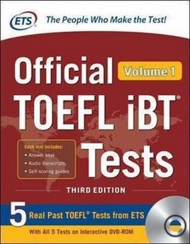 Official TOEFL iBT Tests Volume 1 (3rd Edition) - Educational Testing Service - 9781260441000