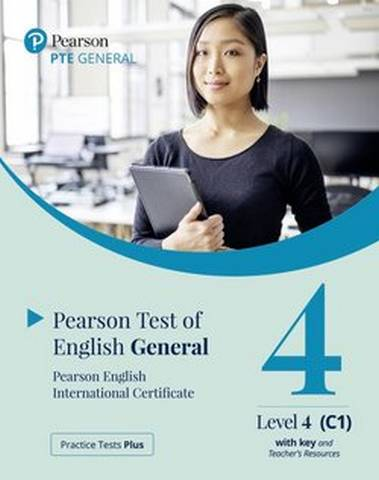 Practice Tests Plus PTE (Pearson Test of English) General C1-C2 Paper Based Test with Key App & Internet Access -  - 9781292353593