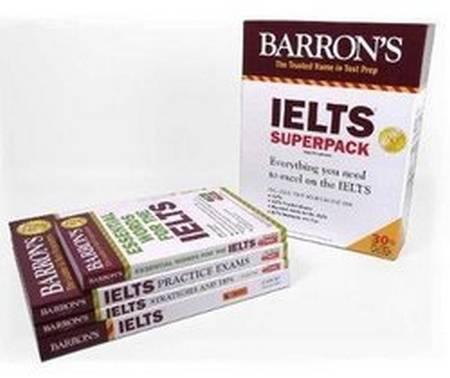 Barron's IELTS Superpack (4th Edition) - Lin Lougheed - 9781438078793