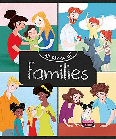 All Kinds of: Families - Anita Ganeri - 9781445161075
