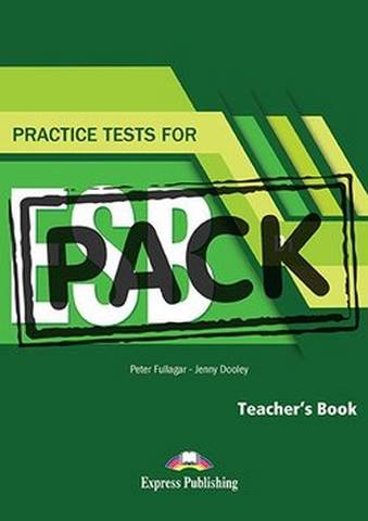 Practice Tests for ESB (B1) Teacher's Book with Digibook App -  - 9781471582233