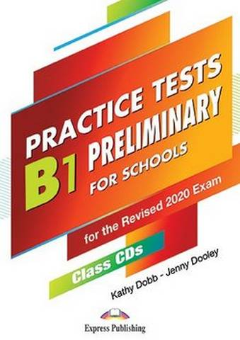 B1 Preliminary for Schools (PET4S) Practice Tests Class CDs (5) -  - 9781471586835