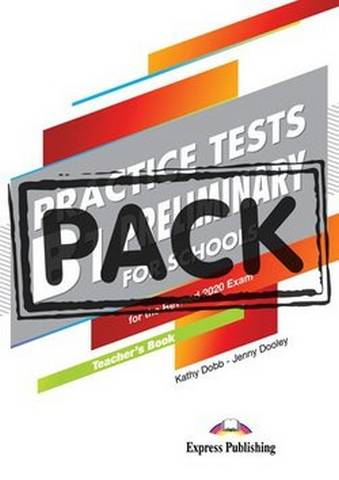 B1 Preliminary for Schools (PET4S) Practice Tests Teacher's Book with Digibooks App -  - 9781471586903