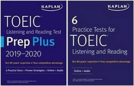 Kaplan TOEIC Prep Set 2 Books Pack (6 Practice Tests for TOEIC Listening & Reading & Listening & Reading Test Prep Plus 2019-2020) - Kaplan Test Prep - 9781506245102