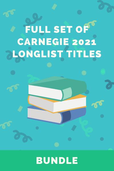 2021 Carnegie Award Longlist set of books
