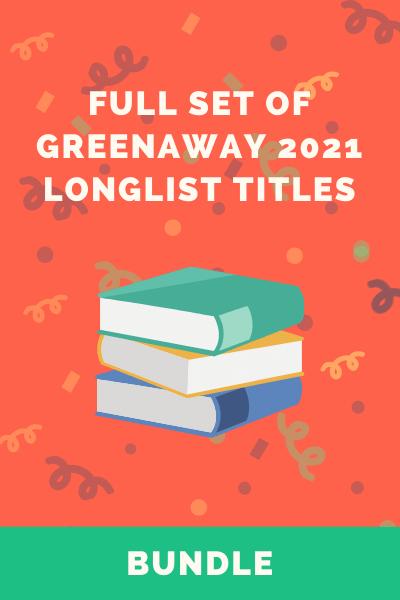 2021 Greenaway Longlist Book set