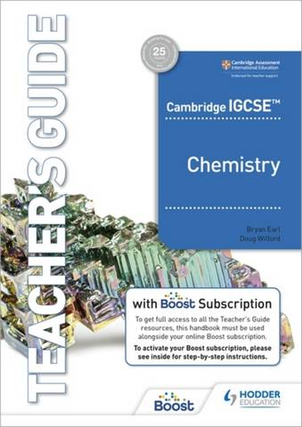 Cambridge IGCSE (TM) Chemistry Teacher's Guide with Boost Subscription Booklet -  - 9781398310520