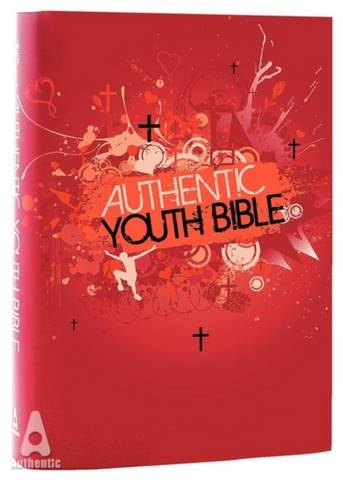 ERV Authentic Youth Bible Red - Bible League International - 9781860248184