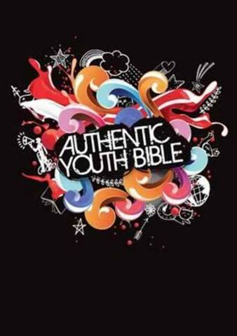 ERV Authentic Youth Bible Black - Bible League International - 9781860248207