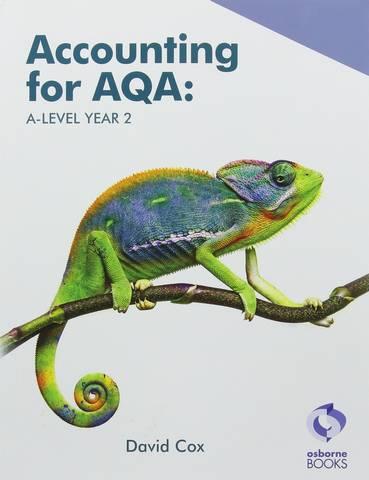 AQA A Level Year 2 Book - David Cox - 9781911198253