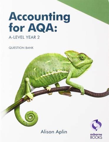 AQA A Level Year 2 Question Bank - Alison Aplin - 9781911198314