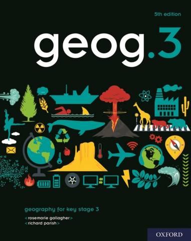 geog.3 Student Book - RoseMarie Gallagher - 9780198489917