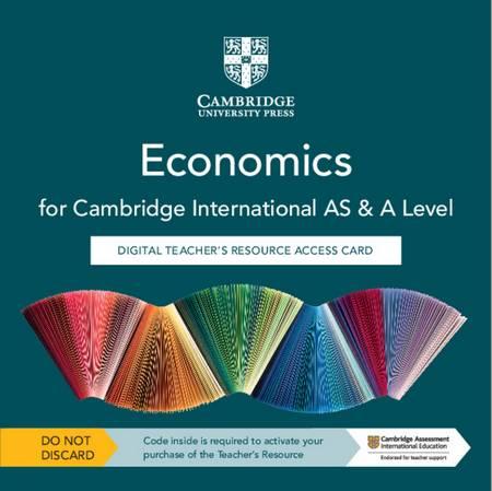 Cambridge International AS & A Level Economics Digital Teacher's Resource Access Card - George Vlachonikolis - 9781108822831