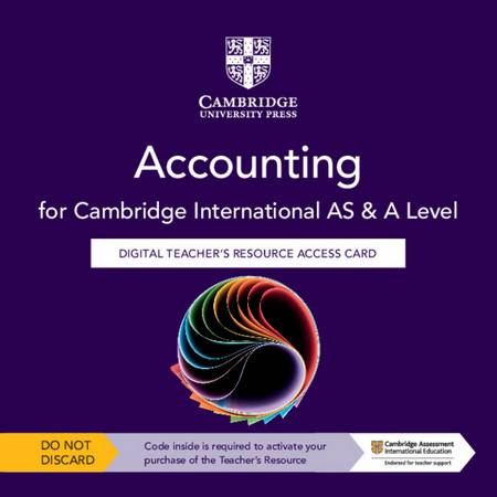 Cambridge International AS & A Level Accounting Digital Teacher's Resource Access Card - Deborah Malpas - 9781108828734