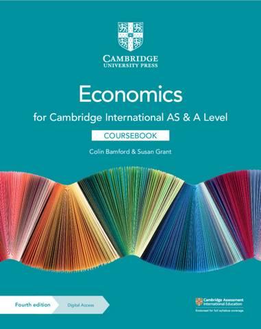 Cambridge International AS & A Level Economics Coursebook with Digital Access (2 Years) - Colin Bamford - 9781108903417
