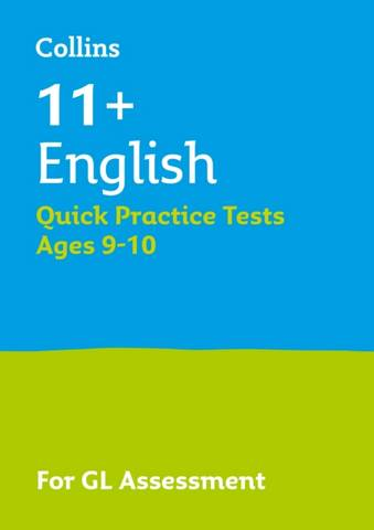 Collins 11+ Practice - 11+ English Quick Practice Tests Age 9-10 (Year 5): For the 2021 GL Assessment Tests - Letts 11+