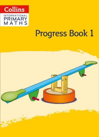 Collins International Primary Maths Progress Book: Stage 1 - Peter Clarke - 9780008369576