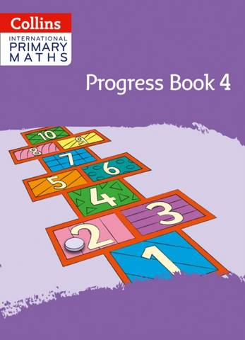Collins International Primary Maths Progress Book: Stage 4 - Peter Clarke - 9780008369606