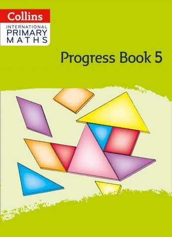 Collins International Primary Maths Progress Book: Stage 5 - Peter Clarke - 9780008369613