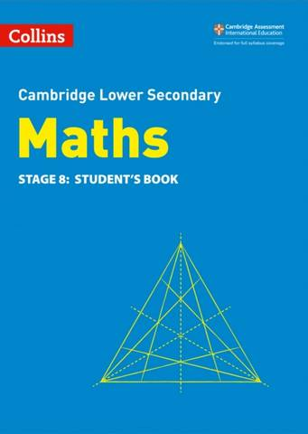 Collins Cambridge Lower Secondary Maths Student's Book: Stage 8 - Belle Cottingham - 9780008378547