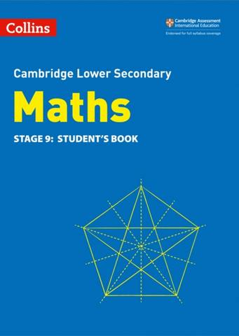 Collins Cambridge Lower Secondary Maths Student's Book: Stage 9 - Belle Cottingham - 9780008378554