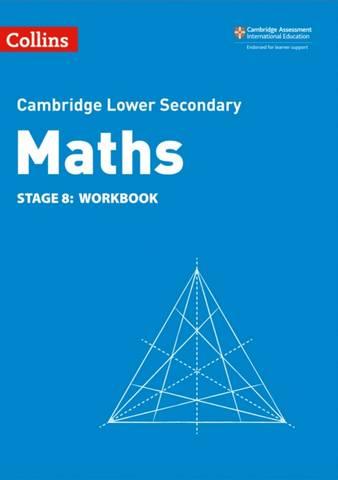 Collins Cambridge Lower Secondary Maths Workbook: Stage 8 - Belle Cottingham - 9780008378578
