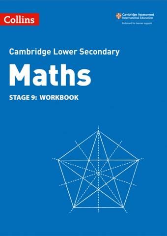 Collins Cambridge Lower Secondary Maths Workbook: Stage 9 - Belle Cottingham - 9780008378585