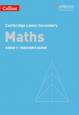 Collins Cambridge Lower Secondary Maths Teacher's Guide: Stage 7 - Alastair Duncombe - 9780008378592