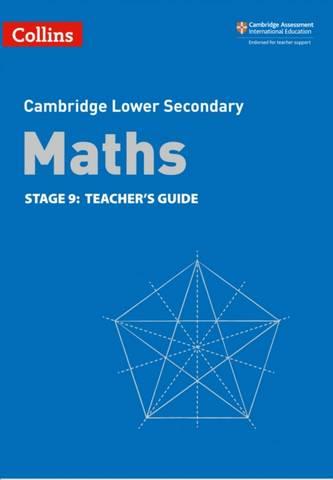 Collins Cambridge Lower Secondary Maths Teacher's Guide: Stage 9 - Belle Cottingham - 9780008378615