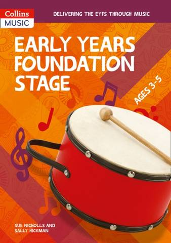 Collins Primary Music - Early Years Foundation Stage - Sue Nicholls - 9780008447656