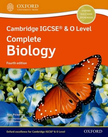 Cambridge IGCSE (R) & O Level Complete Biology: Student Book Fourth Edition - Ron Pickering - 9781382005760