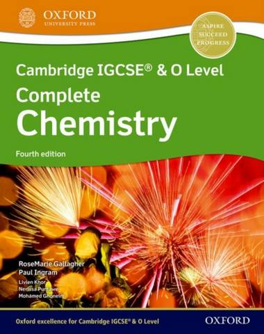 Cambridge IGCSE (R) & O Level Complete Chemistry: Student Book Fourth Edition - RoseMarie Gallagher - 9781382005852