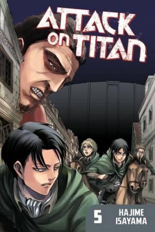Attack On Titan 5 - Hajime Isayama - 9781612622545