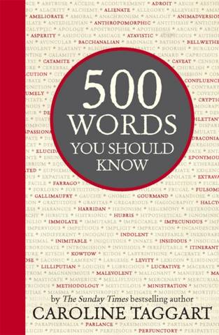 500 Words You Should Know - Caroline Taggart - 9781782432944