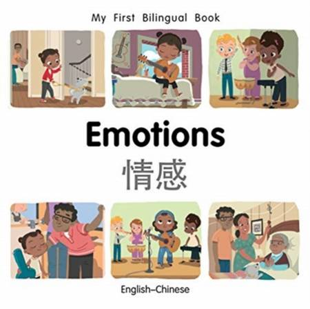 My First Bilingual Book - Emotions (English-Chinese) - Patricia Billings - 9781785089503