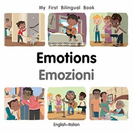 My First Bilingual Book - Emotions (English-Italian) - Patricia Billings - 9781785089541