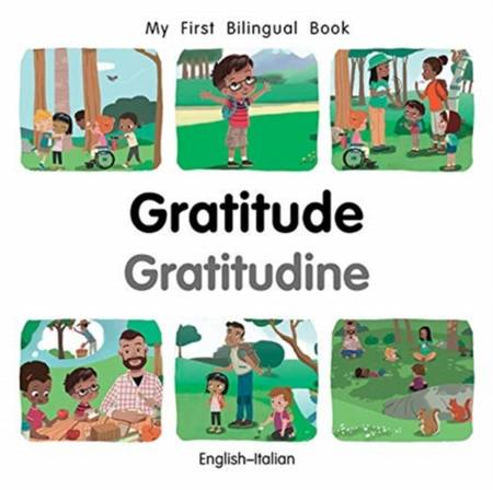 My First Bilingual Book - Gratitude (English-Italian) - Patricia Billings - 9781785089725