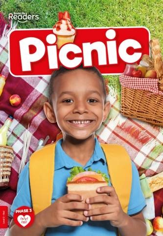 BookLife Non Fiction Readers Level 02 Red: Picnic - William Anthony - 9781839278969