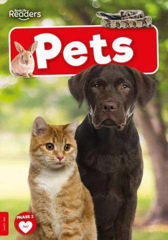 BookLife Non Fiction Readers Level 02 Red: Pets - William Anthony - 9781839278976