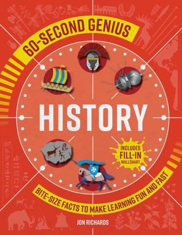 60-Second Genius: History - Mortimer Children's Books - 9781839350542