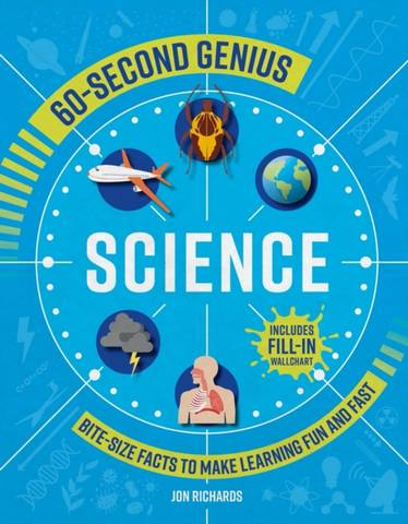60-Second Genius: Science - Mortimer Children's Books - 9781839350559