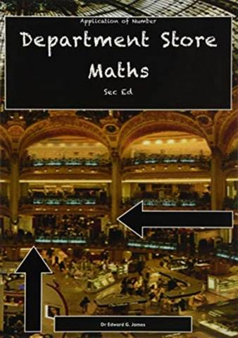 Department Store Maths PB - Dr Edward G James - 9781842854532