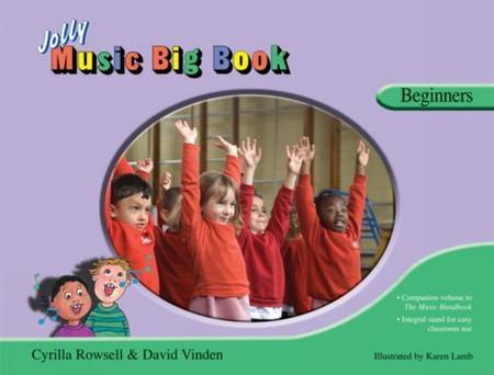 Jolly Music Big Book: Beginners: In Precursive Letters - Cyrilla Rowsell - 9781844141135