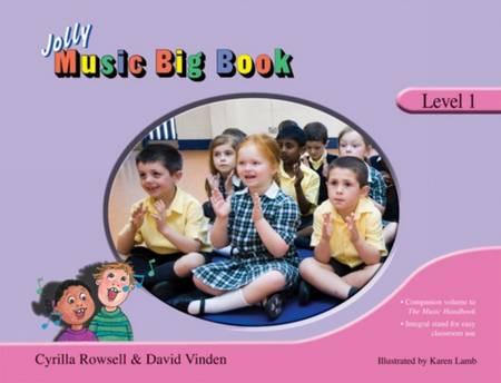 Jolly Music Big Book: Level 1 - Cyrilla Rowsell - 9781844141449