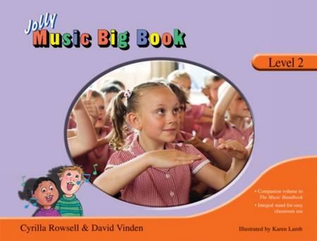 Jolly Music Big Book: Level 2 - Cyrilla Rowsell - 9781844141654