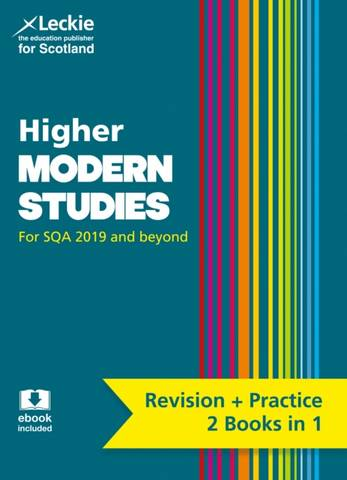 Higher Modern Studies: Preparation and Support for Teacher Assessment (Leckie Complete Revision & Practice) - Patrick Carson - 9780008365325