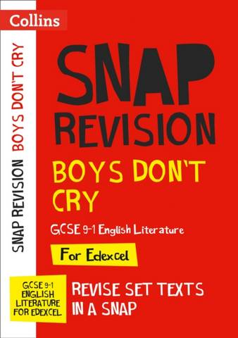 Boys Don't Cry Edexcel GCSE 9-1 English Literature Text Guide: Ideal for home learning