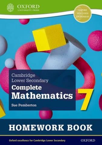 Cambridge Lower Secondary Complete Mathematics 7: Homework Book - Pack of 15 (Second Edition) - Sue Pemberton - 9781382018722