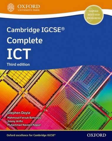 Cambridge IGCSE Complete ICT: Student Book (Third Edition) - Stephen Doyle - 9781382022781